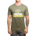 Poler Camping Vibrations Tee Olive image