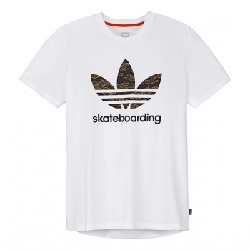 Adidas ADIDAS SKATEBOARDING CAMO BB TEE BLACK/CAMO PRINT/COLLEGIATE ORANGE L