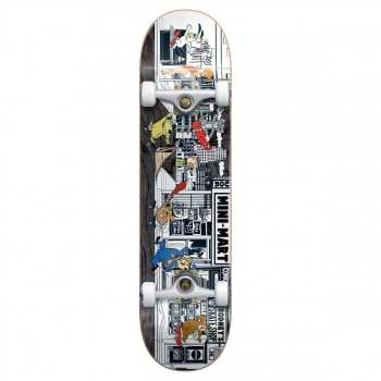 Almost ALMOST STUCK- O-RAMA COMPLETE SKATEBOARD 7.75 INCH