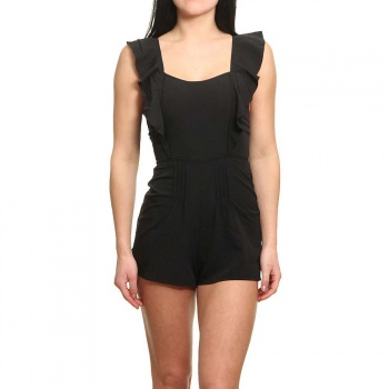 Amuse Society Amuse Society Sunday Lover Playsuit Black Sands