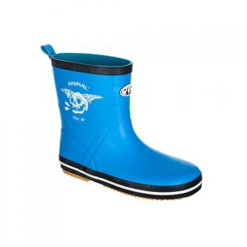 Animal Animal Boys Gloomy Wellington Boots Malibu Blue