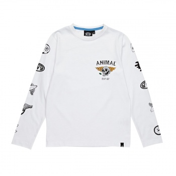 Animal ANIMAL BRECKEN T-SHIRT WHITE
