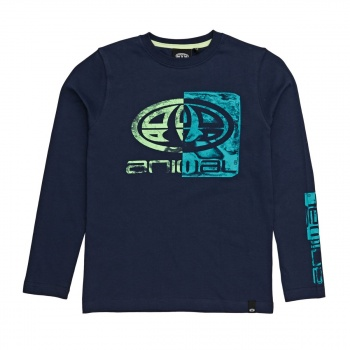 Animal ANIMAL BROOKEY LONG SLEEVE T-SHIRT DARK NAVY