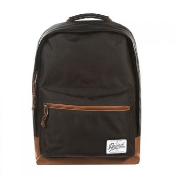 Animal Animal Carve Backpack Black
