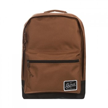 Animal Animal Carve Backpack Golden Brown