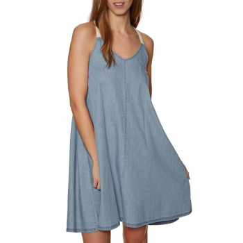 Animal ANIMAL CASEYTWO DRESS CHAMBRAY BLUE