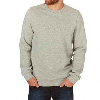 Animal ANIMAL CURLEY SWEATSHIRT GREY MARL