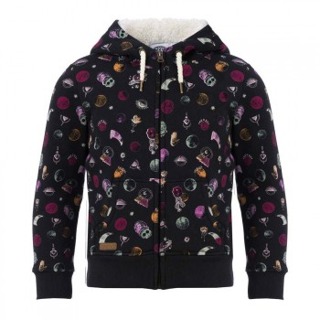 Animal Animal Girls Mystic Dot Sherpa Black