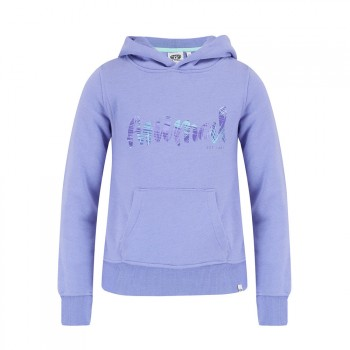 Animal Animal Girls Rachelle Hoody Iris Blue Marl