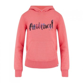 Animal Animal Girls Rachelle Hoody Sunkissed Orange
