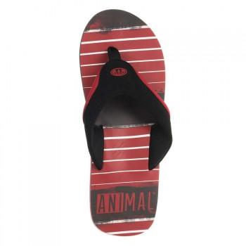 Animal Animal Jekyl Torn Sandals Red
