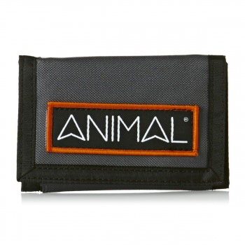 Animal ANIMAL KIAL WALLET  ASPHALT GREY