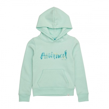 Animal ANIMAL RACHELLE HOODY MISTY GREEN