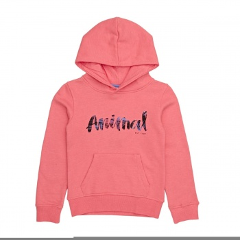 Animal ANIMAL RACHELLE HOODY SUNKISSED ORANGE MARL