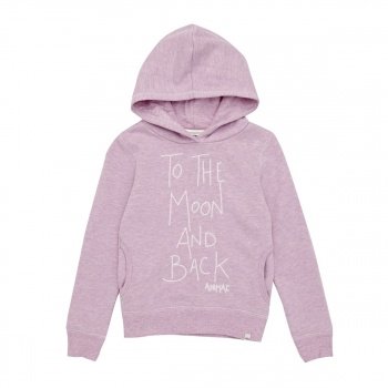 Animal ANIMAL RAIZA HOODY DUSTY VIOLET PURPLE MARL