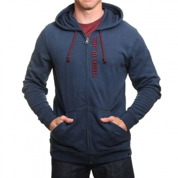 Animal Animal Safou Z/Hoody Dark Navy