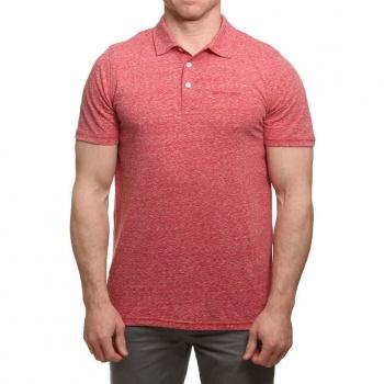Animal Animal Sonny Polo Shirt Rich Red Marl