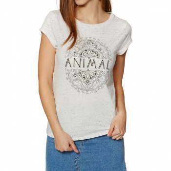 Animal ANIMAL SPIRIT ANIMAL T-SHIRT WHITE