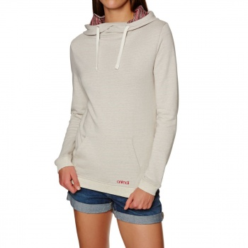Animal ANIMAL TAHITIAN SWIRL TOO HOODY VANILLA CREAM MARL