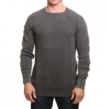 Animal Animal Washed Crew Jumper Black