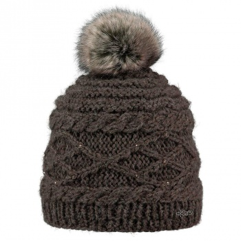 Barts Barts Claire Beanie Heather Brown