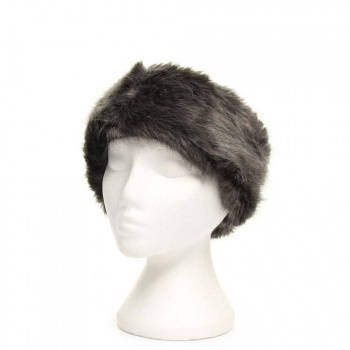Barts BARTS FUR HEADBAND Grey