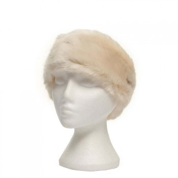 Barts BARTS FUR HEADBAND White