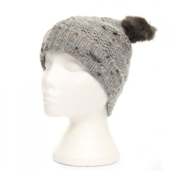 Barts BARTS POUKIE BEANIE Heather Grey