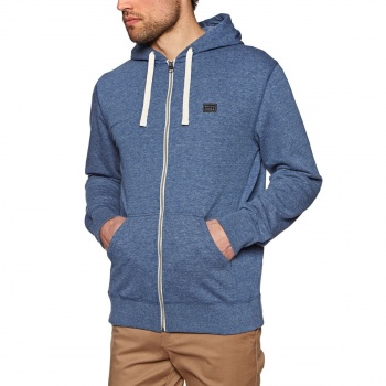 Billabong BILLABONG ALL DAY ZIP HOODIE DARK BLUE HEATH