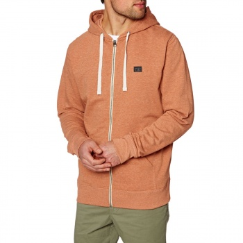 Billabong BILLABONG ALL DAY ZIP HOODY BURNT ORANGE HEATHER