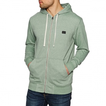 Billabong BILLABONG ALL DAY ZIP UP HOODIE ALGAE HEATHER