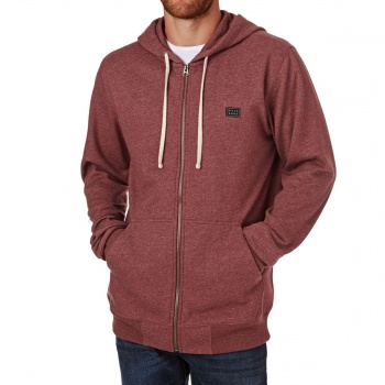 Billabong BILLABONG ALL DAY ZIP UP HOODY FIG HEATHER