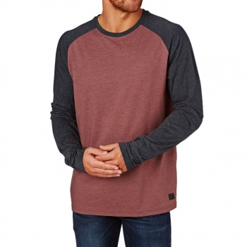 Billabong BILLABONG ALLDAY LONG SLEEVE T-SHIRT  FIG HEATHER