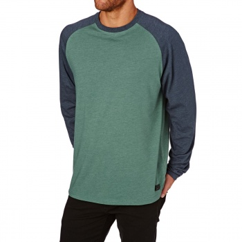 Billabong BILLABONG ALLDAY LONG SLEEVE TEE  ALGAE HEATHER