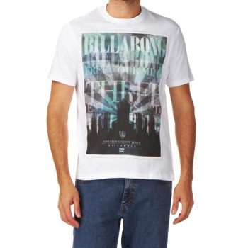 Billabong BILLABONG ARMAGEDON T-SHIRT WHITE