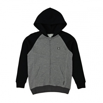 Billabong BILLABONG BALANCE ZIP HOOD BOY  BLACK HEATHER