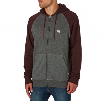 Billabong BILLABONG BALANCE ZIP UP HOODY FIG HEATHER