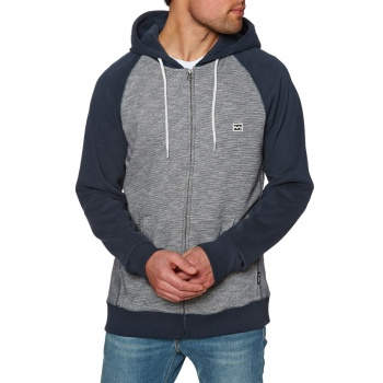 Billabong BILLABONG BALANCE ZIP UP HOODY NAVY HEATHER