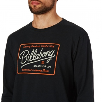 Billabong BILLABONG BALDWIN LONG SLEEVE T-SHIRT  BLACK