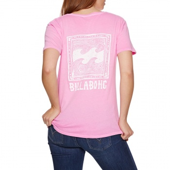 Billabong BILLABONG BEACH DAZE T-SHIRT THINK PINK