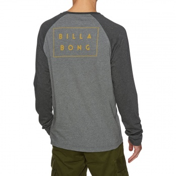 Billabong BILLABONG DIE CUT LONG SLEEVE T-SHIRT DARK GREY HEATH