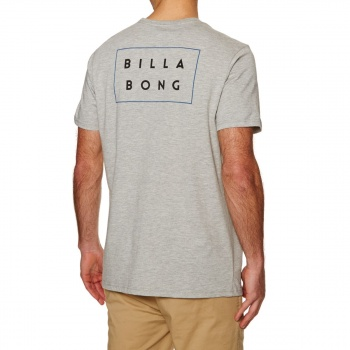 Billabong BILLABONG DIE CUT T-SHIRT GREY HEATHER