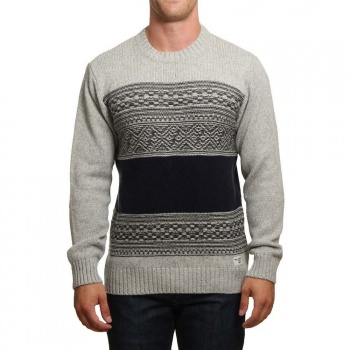 Billabong Billabong Mayfield Jumper Mid Grey Heather