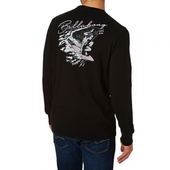 Billabong BILLABONG PIGDOG LONG SLEEVE T-SHIRT BLACK