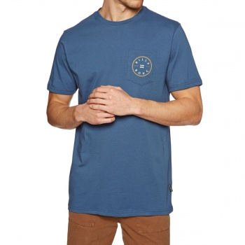Billabong BILLABONG PISTON T-SHIRT DEEP BLUE