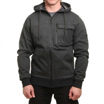 Billabong Billabong Quadrant Z/Hoody Black Heather