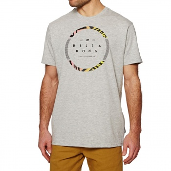 Billabong BILLABONG SPINNING T-SHIRT GREY HEATHER