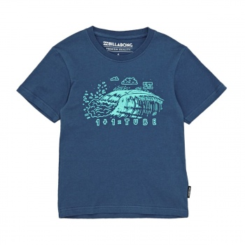 Billabong BILLABONG TUBE T-SHIRT DEEP BLUE