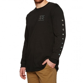 Billabong BILLABONG UNITY LONG SLEEVE T-SHIRT BLACK