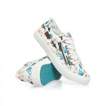 Blowfish Blowfish Coyote Shoes White Prickly Print